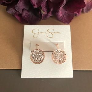 NEW! Rose Gold Earrings